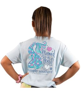 SIMPLY SOUTHERN T-SHIRT YOUTH MERMAID