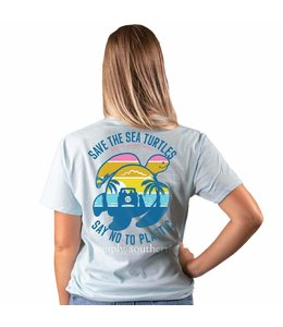 SIMPLY SOUTHERN T-SHIRT SAVE BEACH