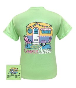 "GIRLIE GIRL ORIGINALS T-SHIRT ""CAMPER QUEEN"""