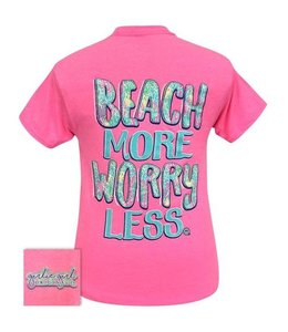 "GIRLIE GIRL ORIGINALS T-SHIRT ""BEACH MORE"""