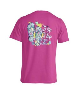 "Anna Grace Tees T-SHIRT ""FLIP FLOP STATE OF MIND"""