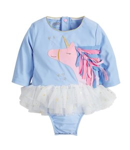 MUD PIE UNICORN ONE PIECE RASH GUARD