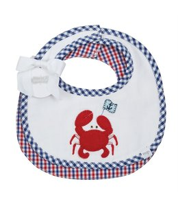 MUD PIE Crab Bib Set