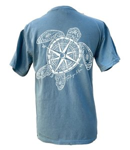 TORTUGA MOON T-Shirt TORTUGA MOON COMPASS TURTLE Comfort