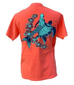 TORTUGA MOON SHIRT TORTUGA MOON MERMAID TURTLE Comfort Colors