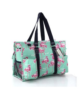 NGIL TOTE LARGE UTILITY W/ POCKETS FLAMINGO FNB 733