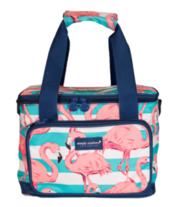 SIMPLY SOUTHERN Flamingo small cooler