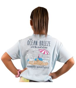 SIMPLY SOUTHERN T-SHIRT YOUTH BREEZE