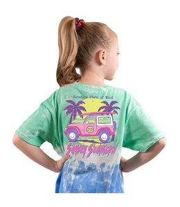 SIMPLY SOUTHERN T-SHIRT YOUTH STATE OF MIND JEEP