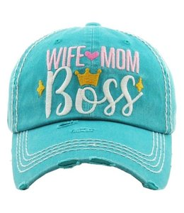BALL CAP MOM WIFE  BOSS