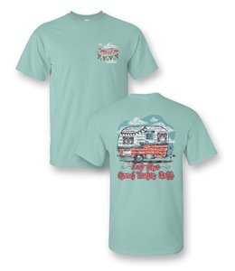 SASSY FRASS T-SHIRT CAMPER GOOD TIMES ROLL Comfort  Colors