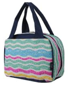 NGIL LUNCH TOTE BEACH WAVES AQS 255
