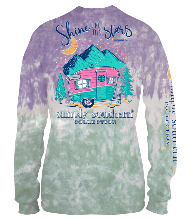SIMPLY SOUTHERN Adult SS LS Shine Bohemian
