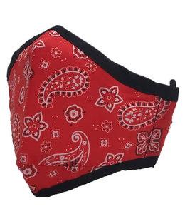 GIRLIE GIRL ORIGINALS GG Red Bandana Mask