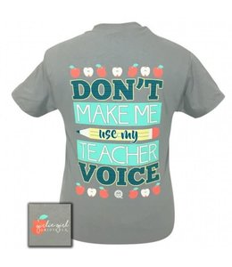 GIRLIE GIRL ORIGINALS T-SHIRT TEACHER VOICE  3x