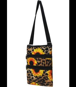 NGIL Purse messenger leopard Sunflower SLEO 231