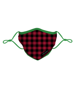 SIMPLY SOUTHERN Christmas Face Mask Gingham