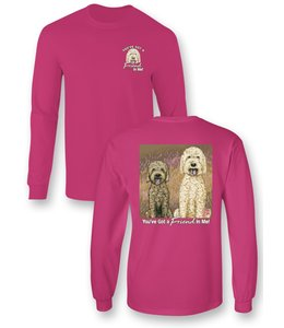 SASSY FRASS T-Shirt Friend in Me Dogs Comfort Colors LS