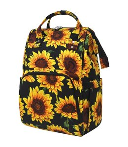 NNK CREATIONS DIAPER SUNFLOWER UTILITY BAG SUF 1071