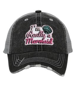 KATYDID KATYDID I'M REALLY A MERMAID Kids Trucker Hat