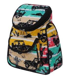 NGIL Quilted Mini Backpack Desert Adventure JEP 286