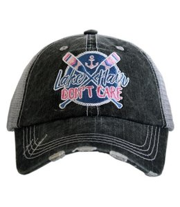 KATYDID KATYDID LAKE HAIR PATCH TRUCKER HAT