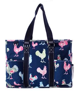 NGIL TOTE LARGE UTILITY W/POCKETS ROOSTER ROH 733