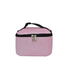 NGIL Cosmetic Bag Large Pink Glitter GLE 983 Pink