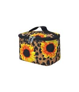 NGIL Cosmetic Bag Large Leopard Sunflower SLEO 983