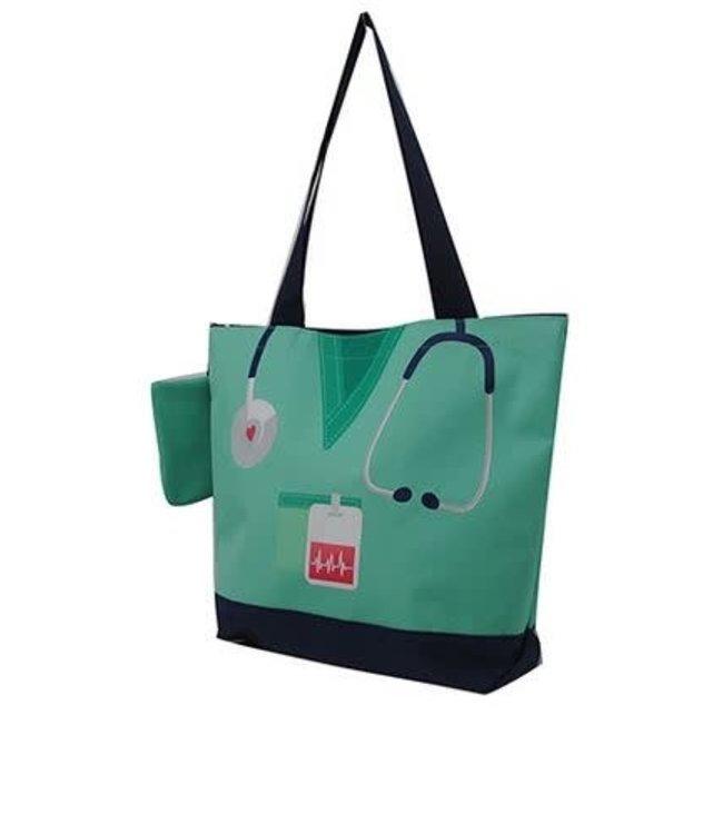 NGIL Canvas Nurse Tote Bag NURS 821