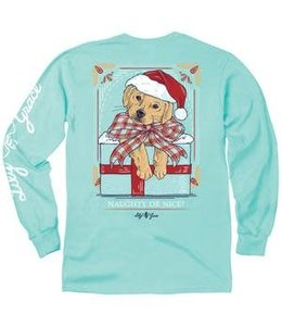 LILY GRACE T-SHIRT LILY GRACE LONG SLEEVE NAUGHTY OR NICE 15530