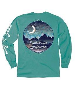 LILY GRACE T-Shirt Brightest Star LS Seafoam