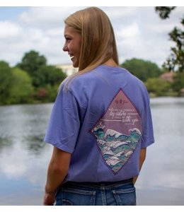 LILY GRACE T-Shirt Scene Series Waves SS Lavender