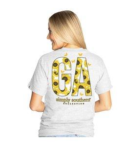 SIMPLY SOUTHERN T-shirt Simply Southern GA Ash