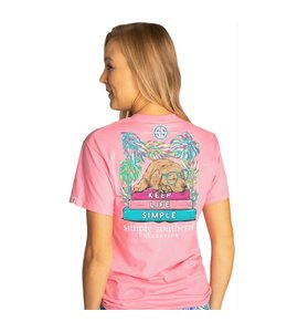 SIMPLY SOUTHERN T-shirt Simply Southern Keep Flamingo