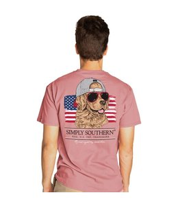 SIMPLY SOUTHERN T-shirt Simply Southern Good Dog Crepe