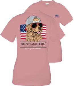 SIMPLY SOUTHERN T-shirt Youth SS Good Dog Crepe