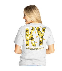 SIMPLY SOUTHERN T-shirt Simply Southern KY Ash