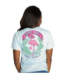 SIMPLY SOUTHERN T-shirt Simply Southern Mamamingo Ice