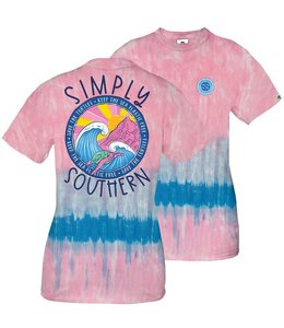 SIMPLY SOUTHERN T-shirt Youth SS Save Turtle Candy