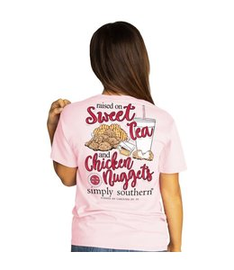 SIMPLY SOUTHERN T-shirt Simply Southern Nugget LuLu