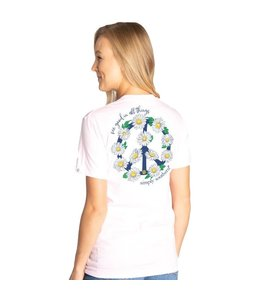 SIMPLY SOUTHERN T-shirt Simply Southern Peace LuLu