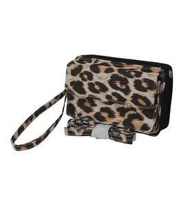 NGIL Phone Case Wallet Leopard LPD 942D