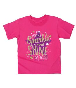 KIDZ T-Shirt Sparkle and Shine Heliconia