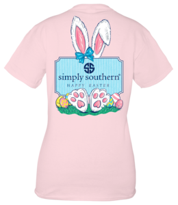 SIMPLY SOUTHERN T-shirt SS Easter Lulu