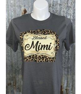 SASSY FRASS Leopard Blessed Mimi Gray