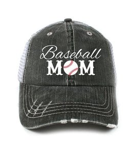 KATYDID KATYDID BASEBALL  MOM BALL CAP HAT