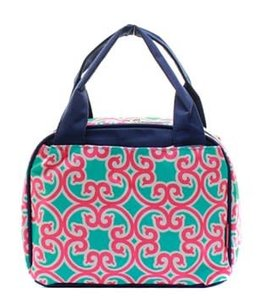 NGIL LUNCH TOTE - GEOMETRIC PRINT