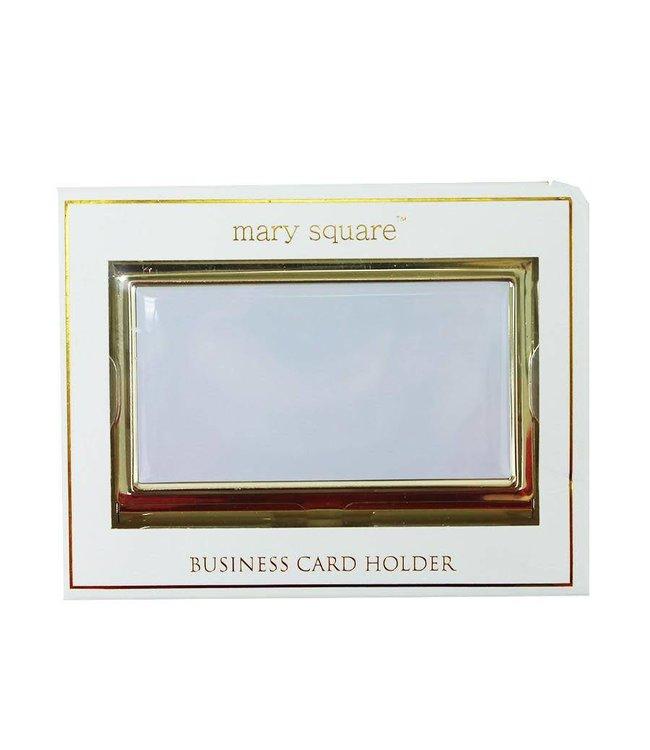 BUSINESS CARD HOLDER WHITE  08947