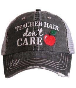 KATYDID KATYDID TEACHER HAIR DON'T CARE TRUCKER CAP